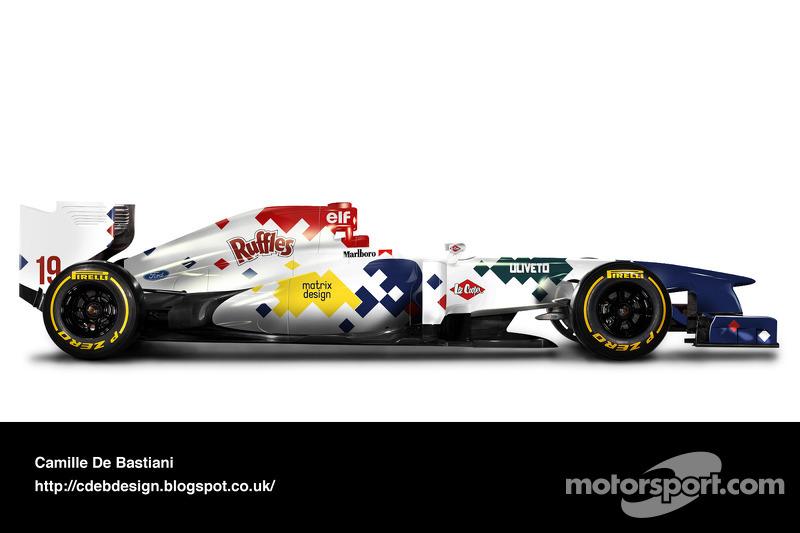 Retro F1 car - Arrows 1994