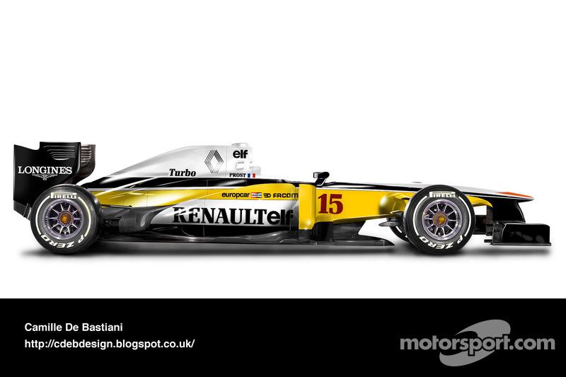 Auto Retro F1 - Renault 1982