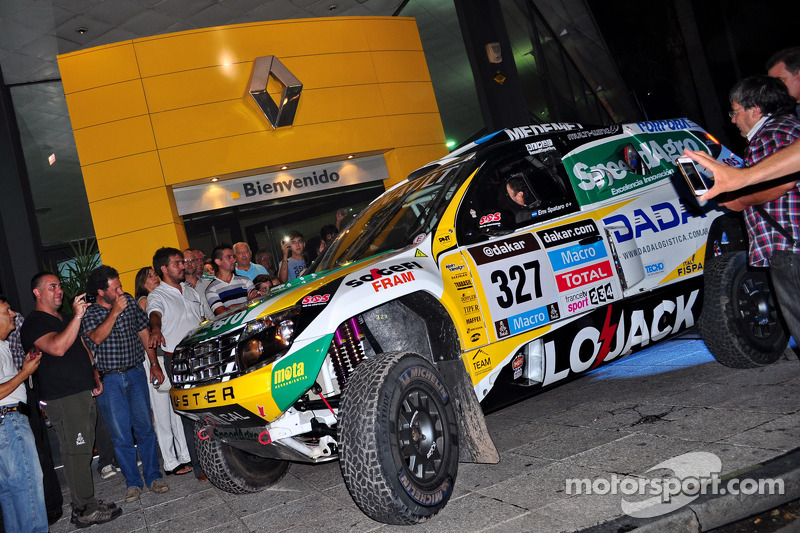 #327 Renault: Emiliano Spataro, Benjamin Lozada