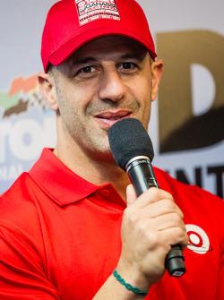 Chip Ganassi Racing press conference: Tony Kanaan
