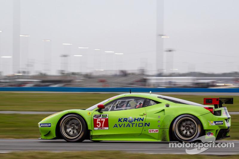 #57 Krohn Racing 法拉利 F458 Italia: 特雷西·克龙, 尼克·琼森