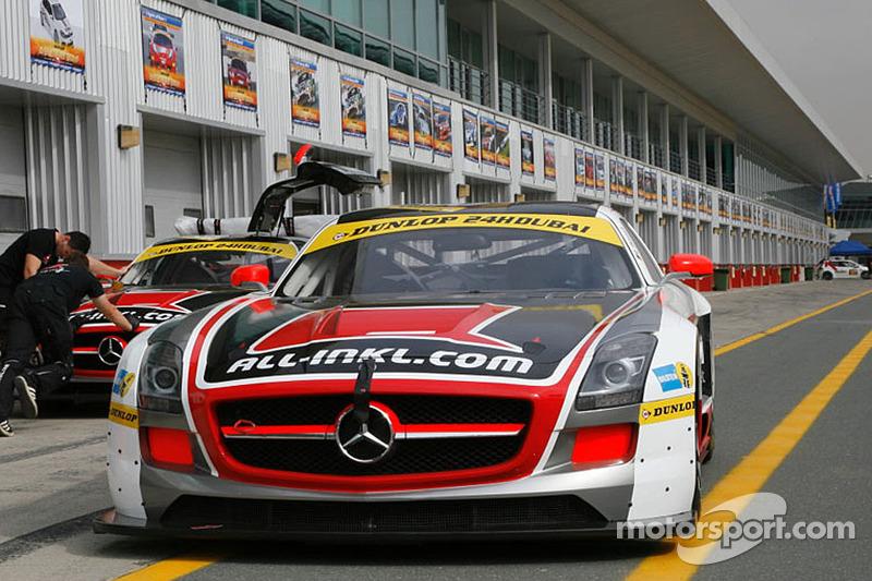 #38 All-Inkl.com Münnich Motorsport Mercedes SLS AMG GT3: René Münnich, Marc Basseng, Rob Huff