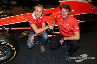 Max Chilton firma con Marussia F1