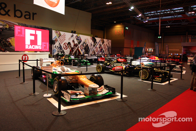 F1 Racing Display