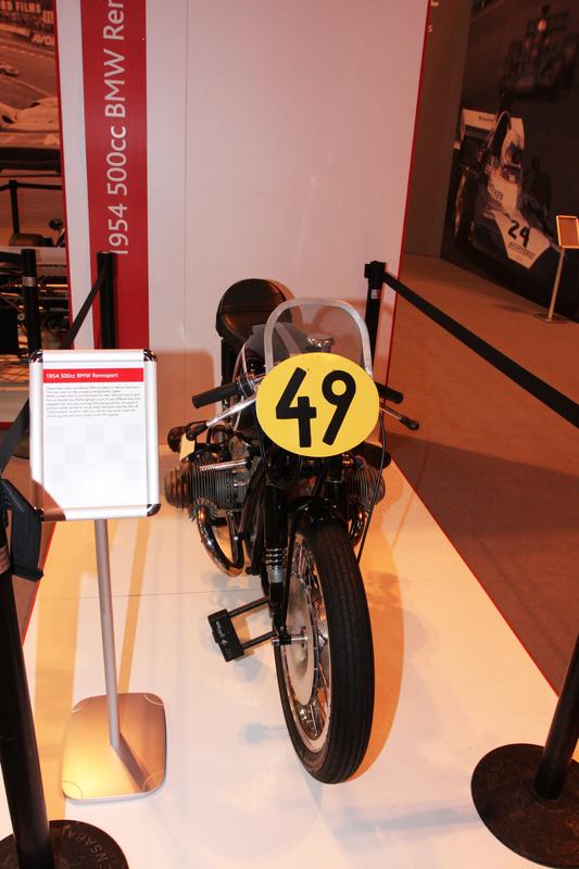 John Surtees, 1954 Bmw 500cc Motorcylcle
