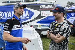 Cyril Despres and Sébastien Loeb