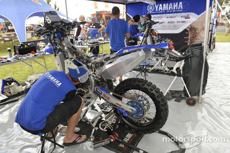 Yamaha team area