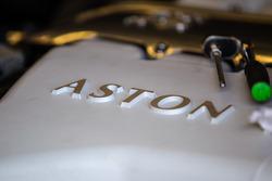 TRG-AMR Aston Martin V12 Vantage engine detail