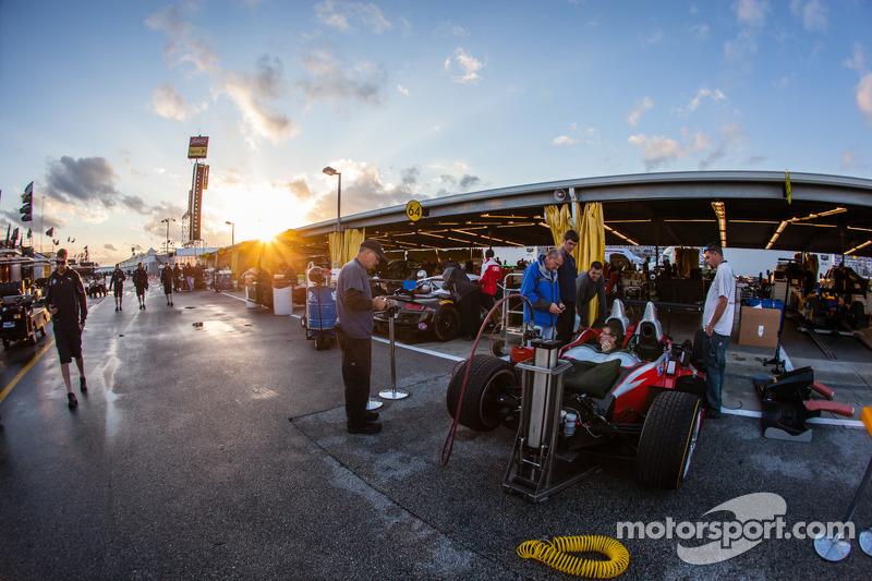 #38 Performance Tech Motorsports ORECA FLM09 雪佛兰