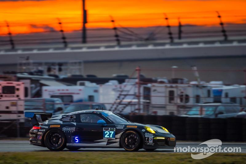 #27 邓普希 Racing 保时捷 911 GT America: 帕特里克·邓普希, 乔·福斯特, 安德鲁·戴维斯, 马克·里布