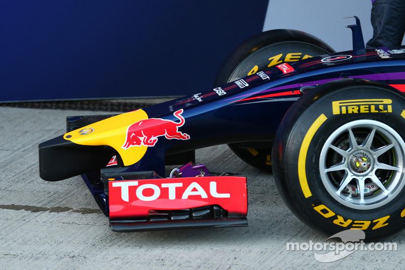 Il musetto della Red Bull Racing RB10