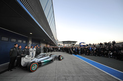 The new Mercedes AMG F1 W05 is unveiled