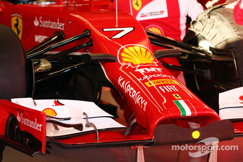 Ferrari F14-T ön kanat ve burun