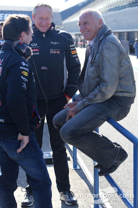 Christian Horner, Red Bull Racing, Sportif Direktör ve Dietrich Mateschitz, Red Bull'un Sahibi