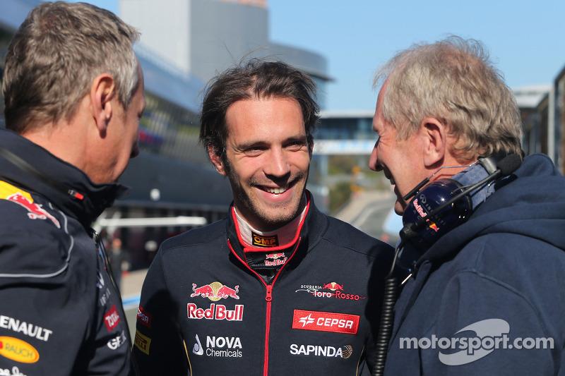 Jean-Eric Vergne, Scuderia Toro Rosso e il dottor Helmut Marko, Consulente Red Bull Motorsport