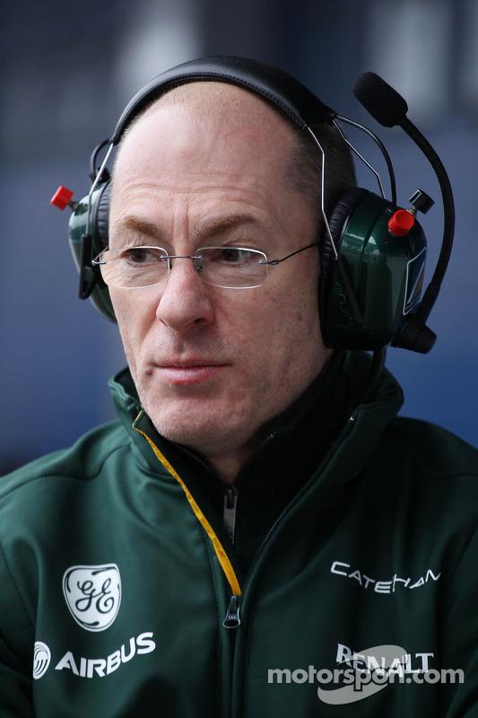 Mark Smith, Caterham F1 Team Technical Director