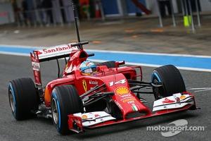 #14 Fernando Alonso, Ferrari F14-T