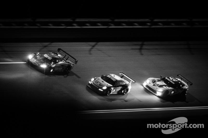 #10 韦恩·泰勒 Racing 雪佛兰克尔维特 DP 雪佛兰: 韦恩·泰勒, 马克斯·安杰莱利, 里基·泰勒, 乔丹·泰勒, #30 NGT Motorsport 保时捷 911 GT Americ
