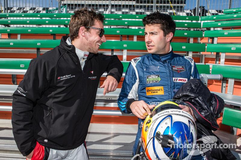 Şampiyonların fotoğraf çekimi: Filipe Albuquerque ve Mike Rockenfeller