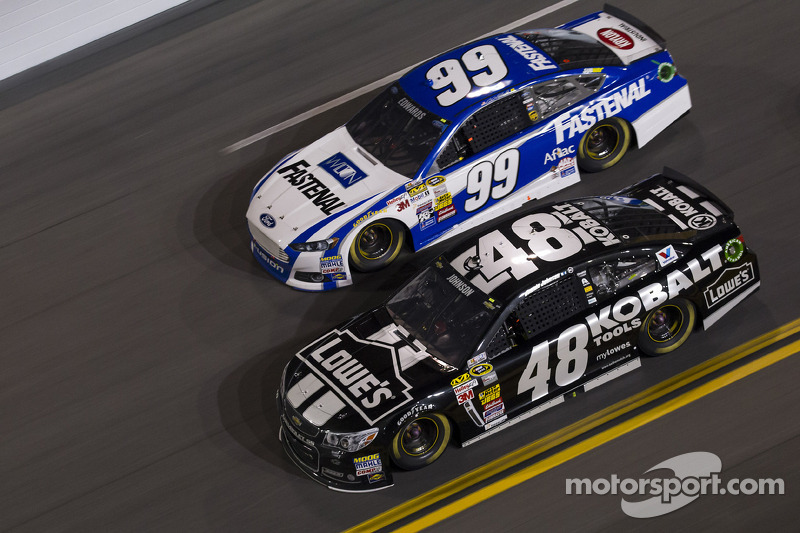 Jimmie Johnson e Carl Edwards