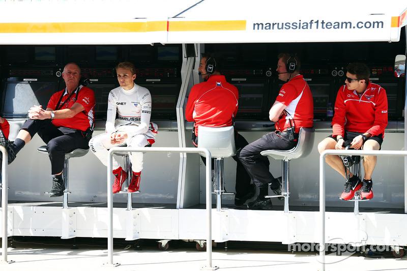 Marussia F1 Team muretto