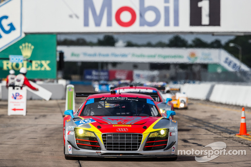 #45 Flying Lizard Motorsports Audi R8 LMS: Nelson Canache, Spencer Pumpelly, Markus Winkelhock, Tim