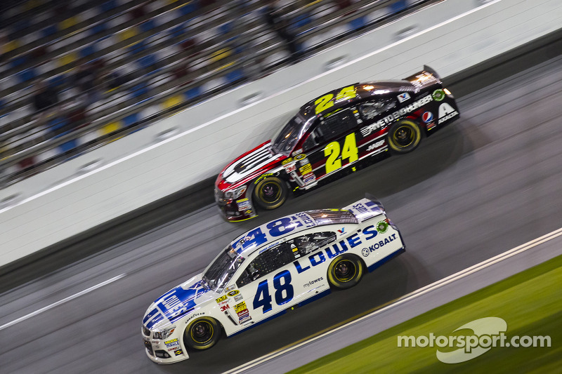 Jimmie Johnson e Jeff Gordon