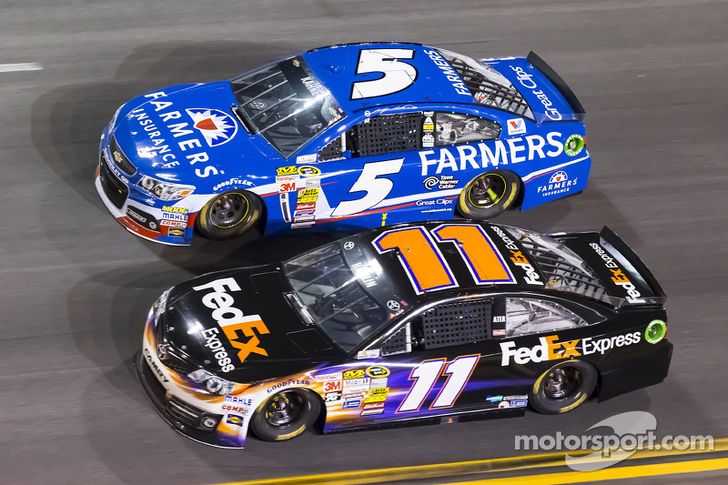 Denny Hamlin and Kasey Kahne