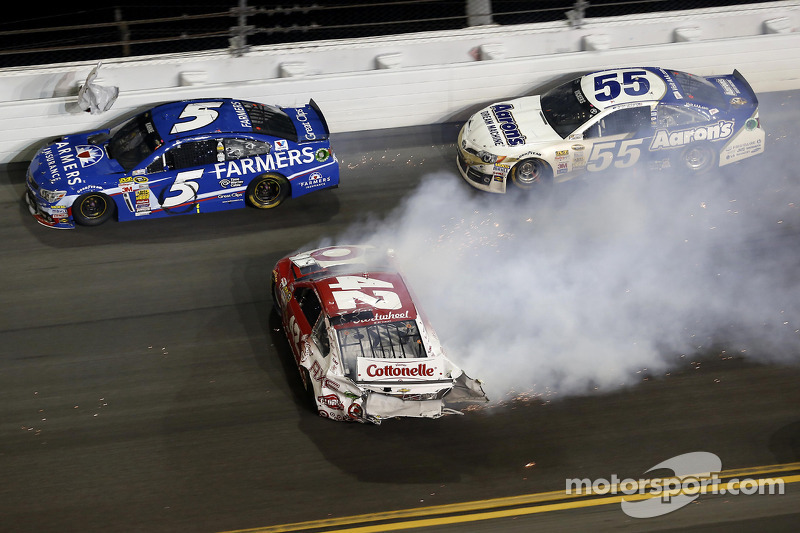Kaza, Kyle Larson, Ganassi Racing Chevrolet