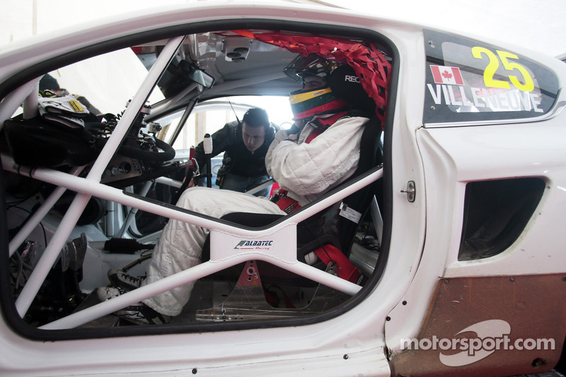 Jacques Villeneuve e la Albatec Racing Peugeot