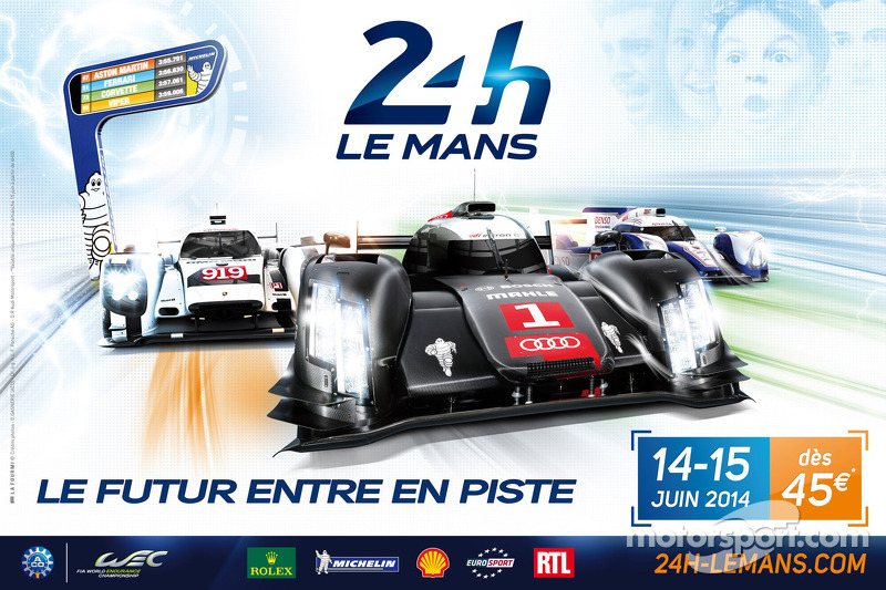 2014 Le Mans 24 Hours poster