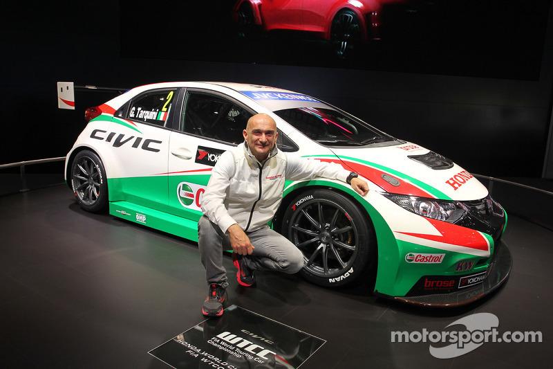 Honda Civic WTCC ve Gabriele Tarquini