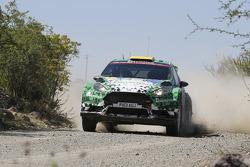 Yurii Protasov and Pavlo Cherepin, Ford Fiesta R5