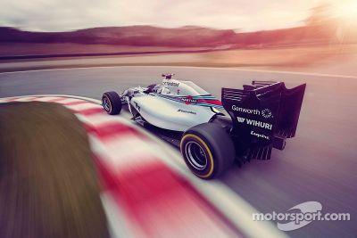 Présentation de la Williams Martini Racing FW36
