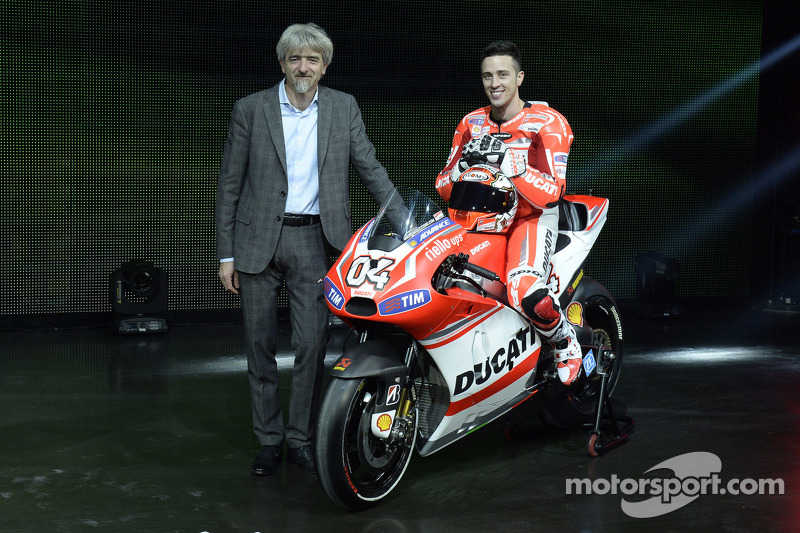 Ducati press conference, Andrea Dovizioso