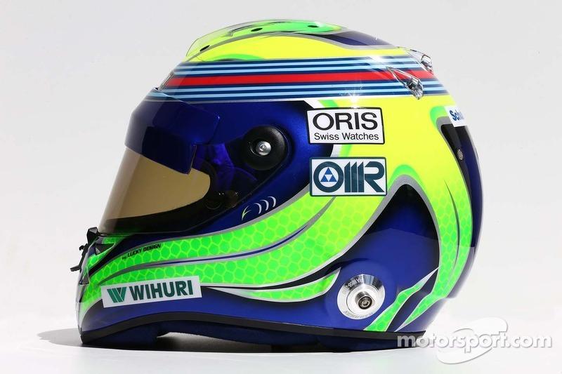 Il casco di Felipe Massa, Williams