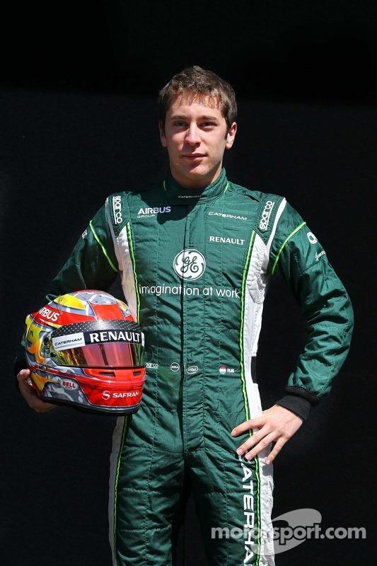 Alexander Rossi, Caterham F1, Testfahrer