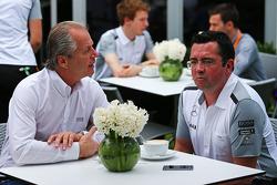 Eric Boullier, McLaren Racing Director (Right)
