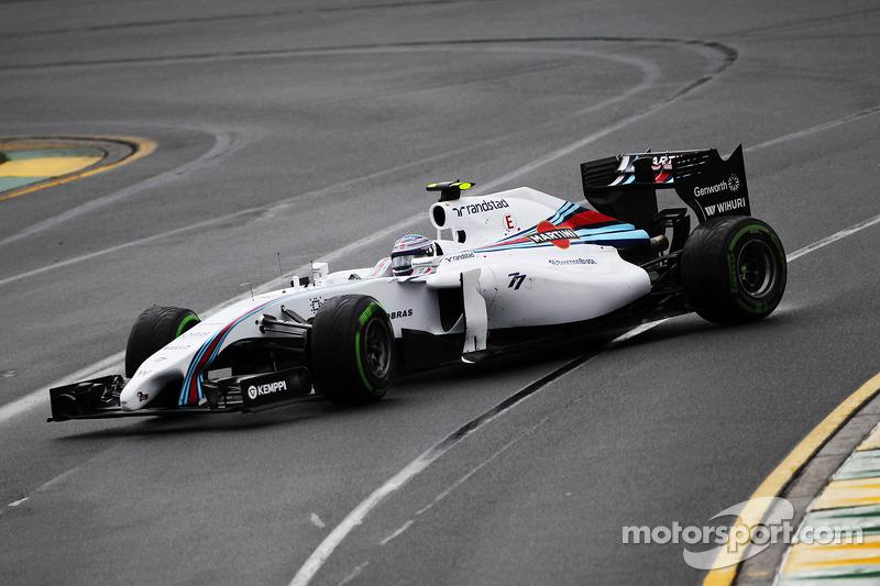 Valtteri Bottas, Williams FW36 va in testa coda