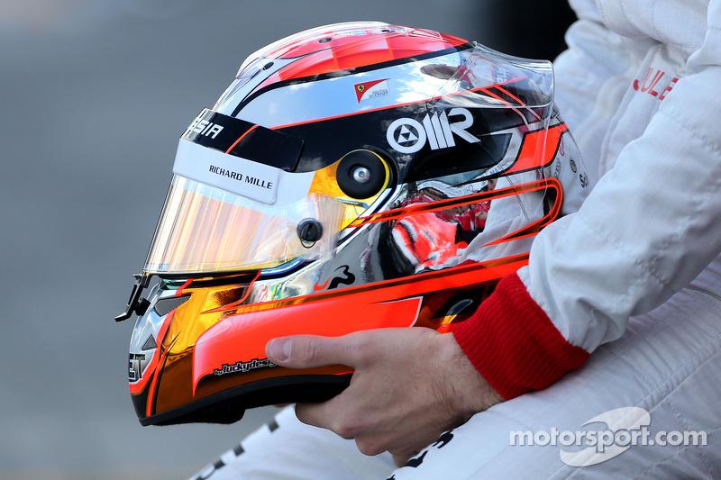 Jules Bianchi'nin kaskı, Marussia F1 Takımı