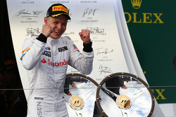 3rd place Kevin Magnussen, McLaren