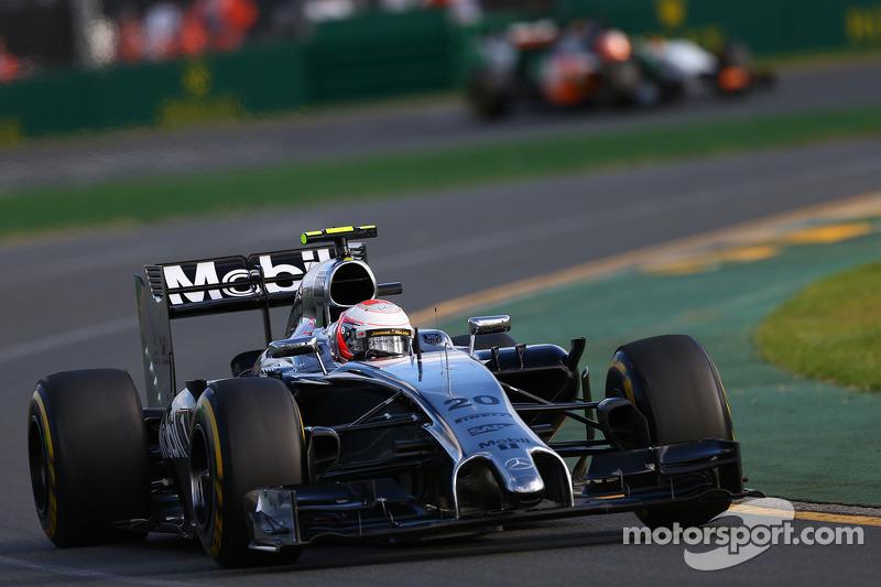 Kevin Magnussen, McLaren MP4-29 at Australian GP