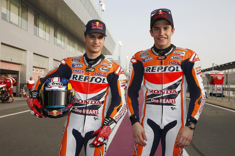 Dani Pedrosa ve Marc Marquez