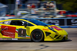 #1 3R Racing Lamborghini Gallardo LP570-4 Super Trofeo: David Calvert-Jones and Blair Chang