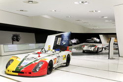 Le Mans display at the Porsche Museum in Stuttgart