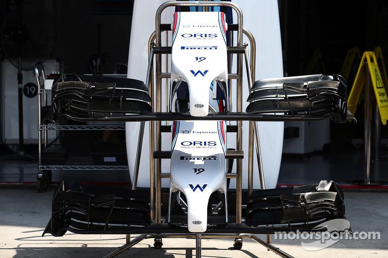 Williams FW36 alettone anteriore