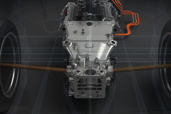 Toyota TS040 Hybrid - sistema ibrido