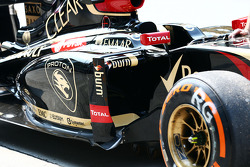 路特斯 F1 E22侧箱细节