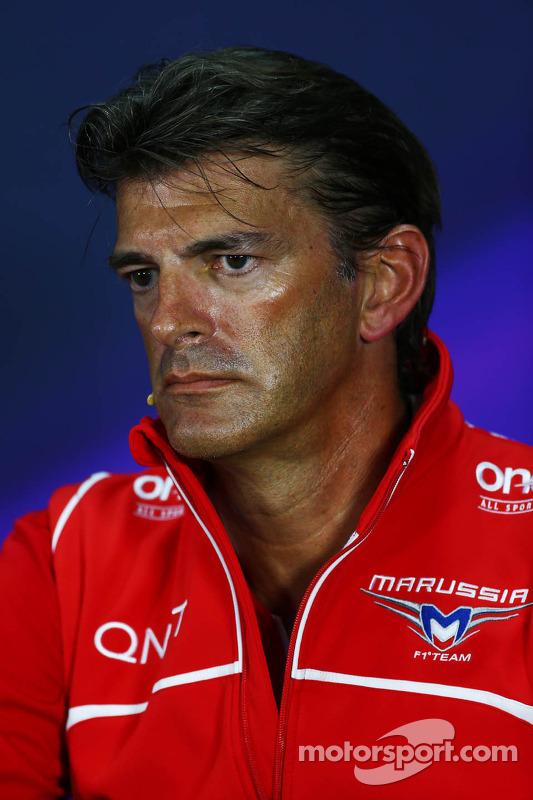 Graeme Lowdon, Marussia F1 Team