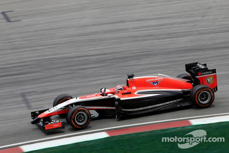 朱尔斯·比安奇(法),玛鲁西亚F1车队